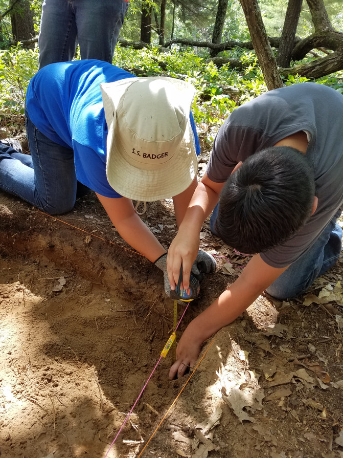 Archaeology Dig - Day 2
