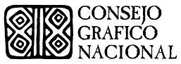 Consejo Grafico Nacional's official logo design. Consortium of Latinx printmaking talleres, fine artists and master printers in the United States.