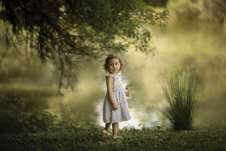 Fotografia infantil ambiente externo