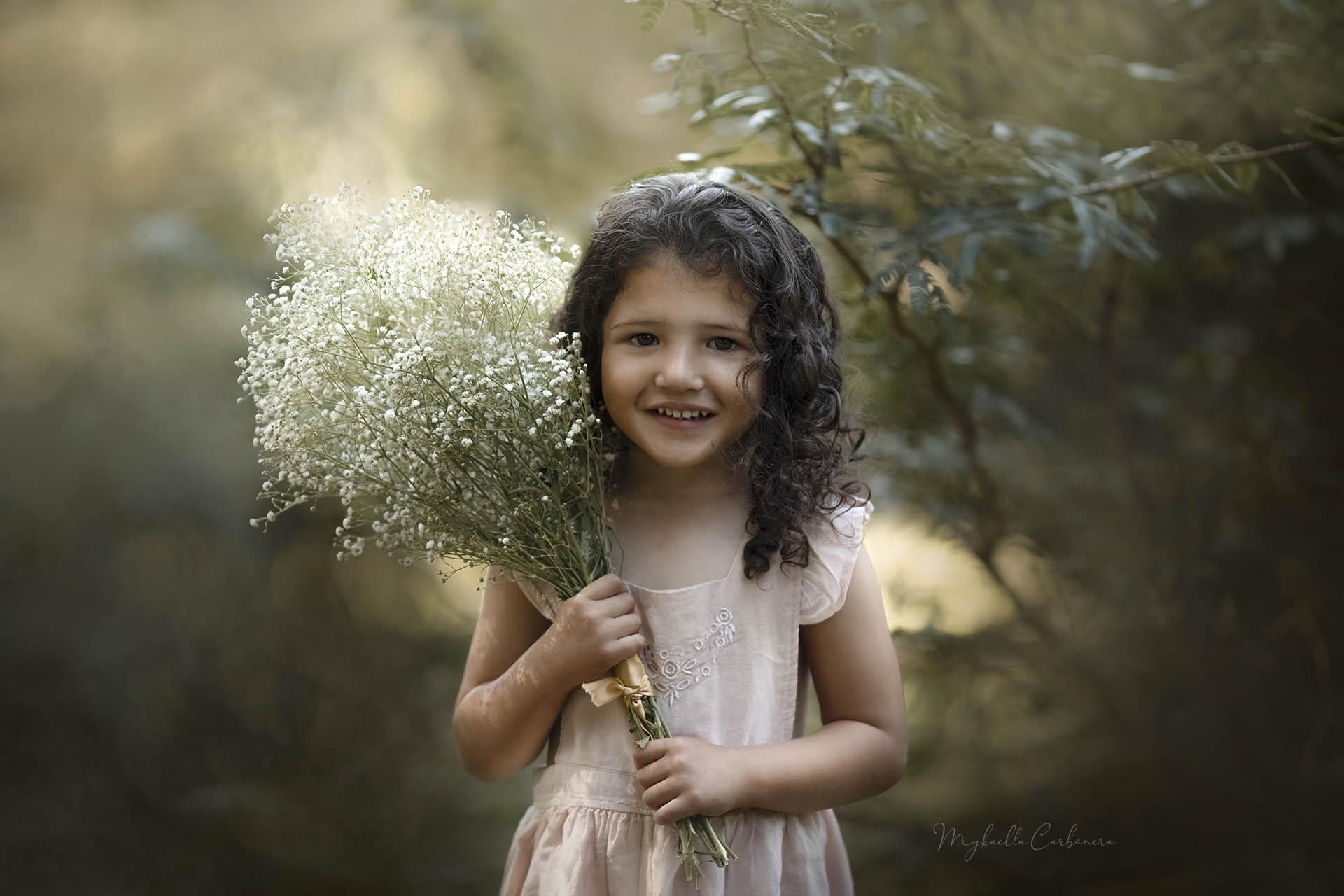 Retrato infantil fine art