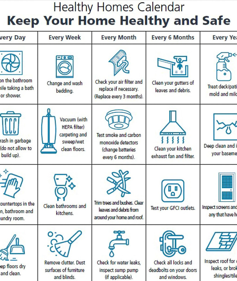 Healthy Homes Calendar