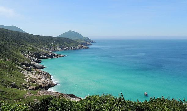 Praia Brava em Arraial do Cabo (RJ)