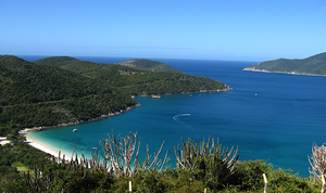 Vista de Arraial do Cabo