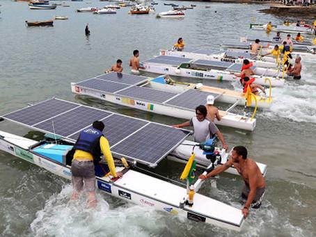 Desafio Solar Brasil em Armação dos Búzios, RJ, começa e tem barcos mais leves e econômicos