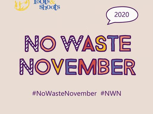 No Waste November: La campaña que invita a darle un respiro al planeta