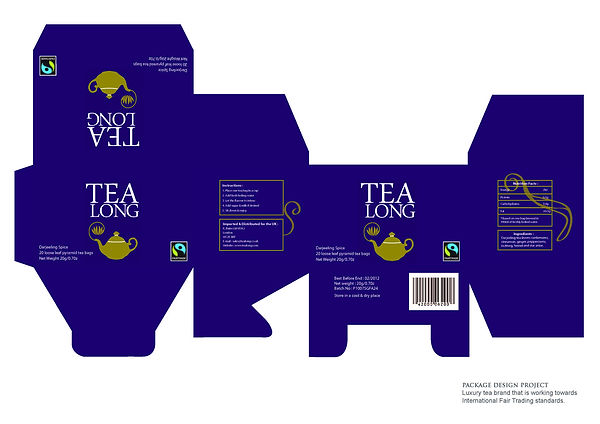 Tea Long Packaging Design Project