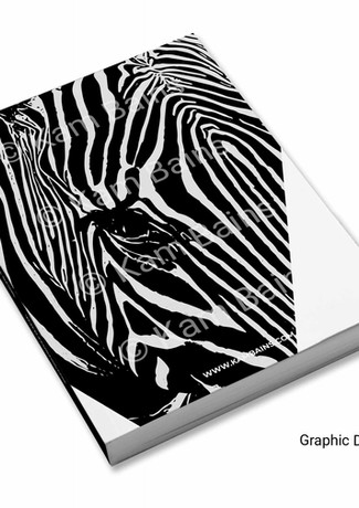 Book Cover Zebra Pattern