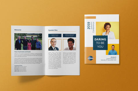 Toastmasters A5 Autumn Conference Brochure