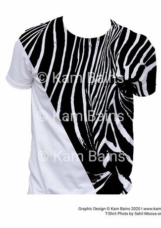 T-Shirt Zebra Pattern