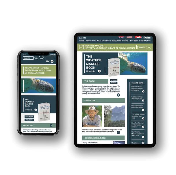 Wireframe & Website