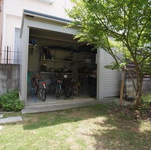 自邸の防災ガレージ