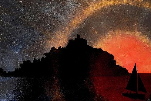 St Michael's Mount sunset