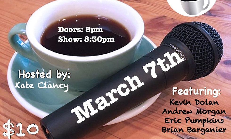 MARCH 7TH, 2020 STAND-UP COMEDY TICKETS (BY BRIAN BARBECUE)