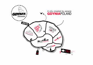 Projekt graficzny prezentacji Gdyni na Expo w Szanghaju. 2010