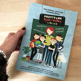 Pozytywna dyscyplina. Projekt okładki i ilustracje do książki. Wydawnictwo Pozytywna Rodzina 2018.