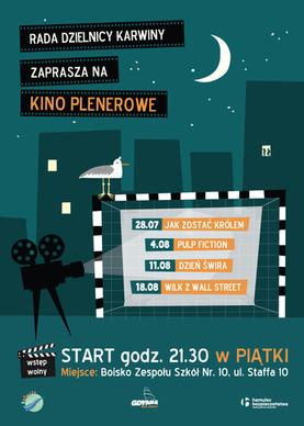 Plakat dla Dzielnicy Karwiny. 2017.