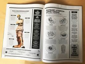 Ilustracje do Magazynu Esquire.