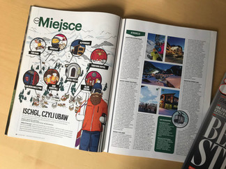 Ilustracja do Magazynu Esquire.