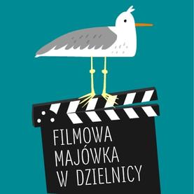 Ikona dla Filmowej Majówki w Dzielnicy.