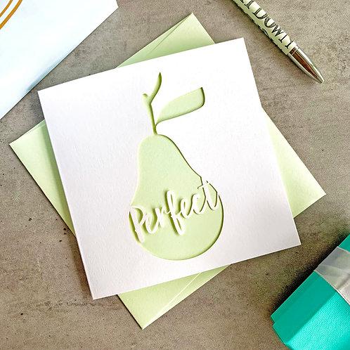 Perfect Pear Card