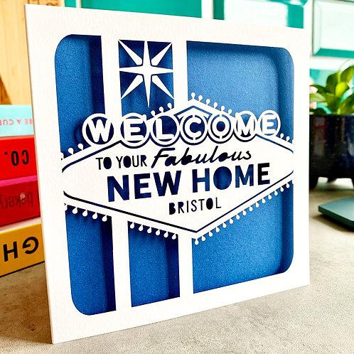 Vegas New Home Card