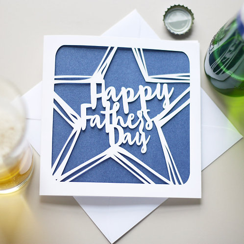 Father's Day Star Card