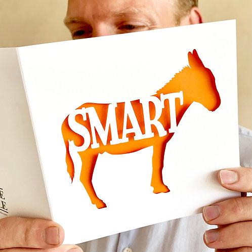 Smart Ass Congratulations Card