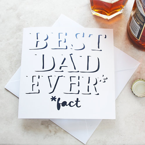 Best Dad Ever Father's Day Card