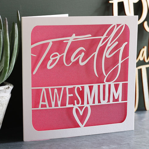 AwesMum Mother's Day Card