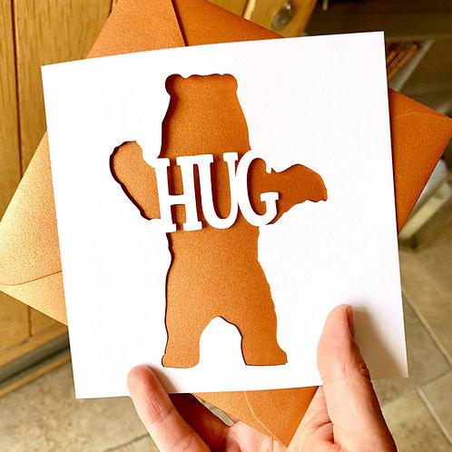Bear Hug Card