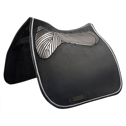 ACAVALLO TWIN SIDED GEL PAD DRESSAGE WITH ROPE