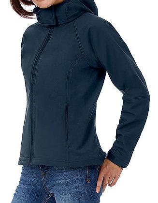 Veste Softshell femme à capuche amovible