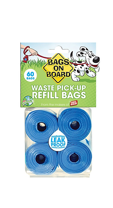 Bags On Board Refills (60 Bags)