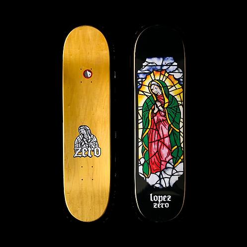 Zero Skateboards: Adrian Lopez - Stained Glass