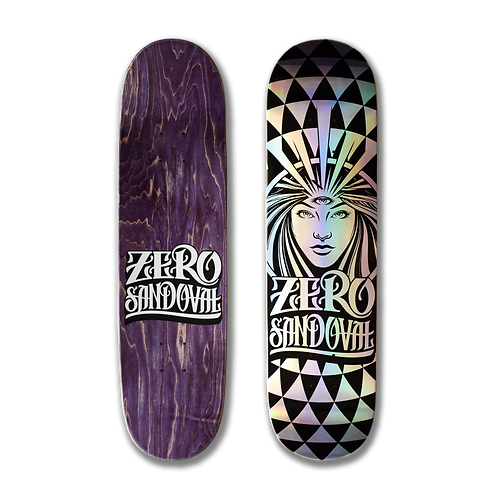 Zero Skateboards: Tommy Sandoval - Flashback Reissue