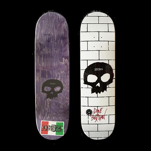 Zero Skateboards: Dane Burman - Signature Skull (The Wall)