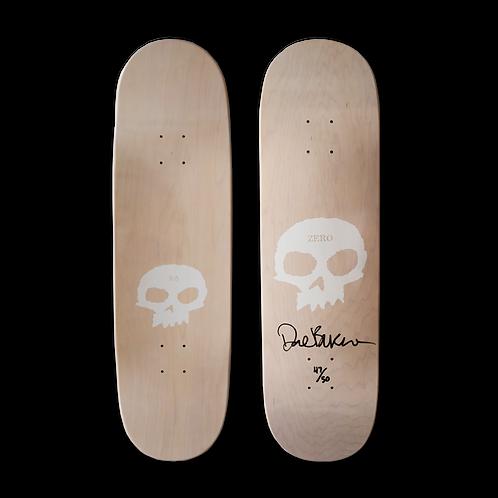Zero Skateboards: Dane Burman - Single Skull (Natural)