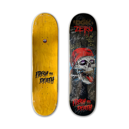 Zero Skateboards: Zero x DGK Fresh Til Death