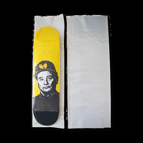 Clear Skateboard Deck Poly Bag - 5 pack