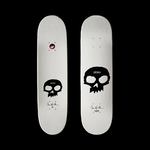 Zero Skateboards: Jamie Thomas - Signature Skull (White)
