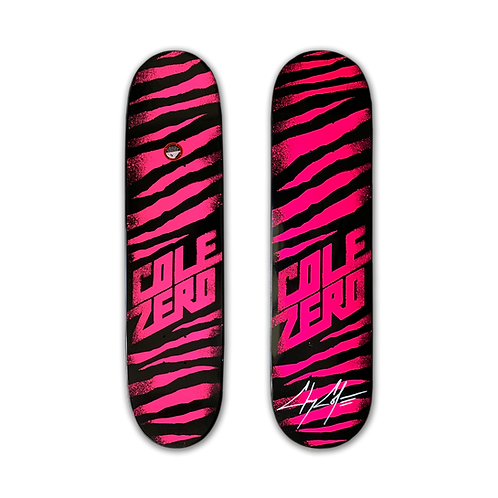 Zero Skateboards: Chris Cole - Ripper (Pink)