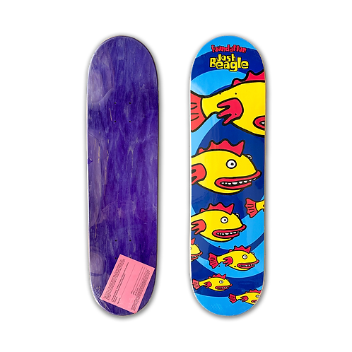 Foundation Skateboards: Josh Beagle - Fish