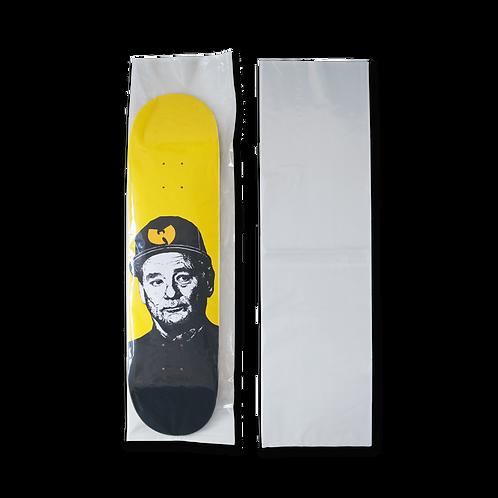 Clear Skateboard Deck Poly Bag - 1 pack