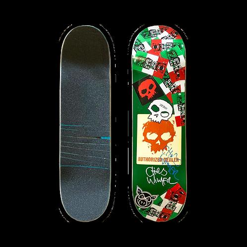 Zero Skateboards: Chris Wimer - Signature Skull