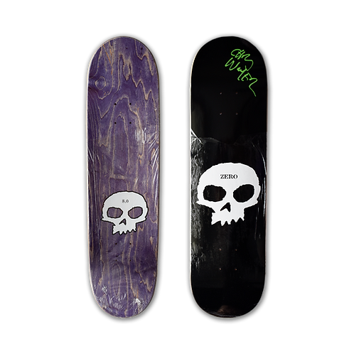 Zero Skateboards: Team - Single Skull (Signed)