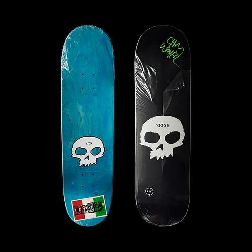 Zero Skateboards: Team - Single Skull (Signed)