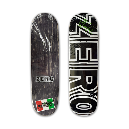 Zero Skateboards: Team - Bold (Signed)