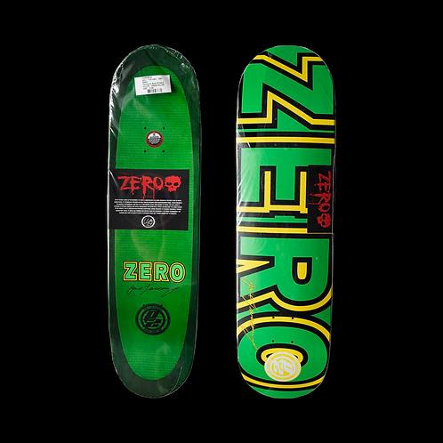 Zero Skateboards: Jamie Tancowny - Signature Bold