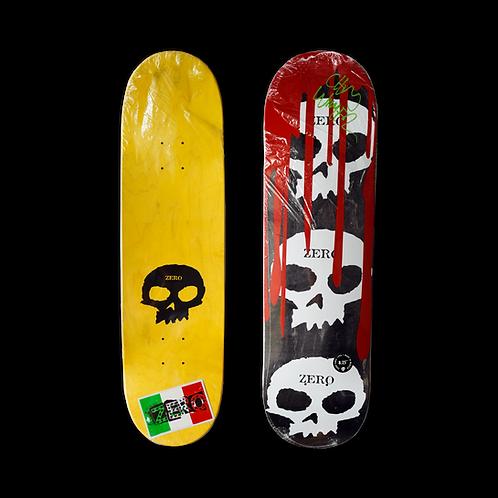 Zero Skateboards: Team - 3 Skull Blood (Signed)