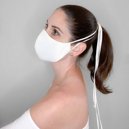 Luxury Collection - Tie back face mask